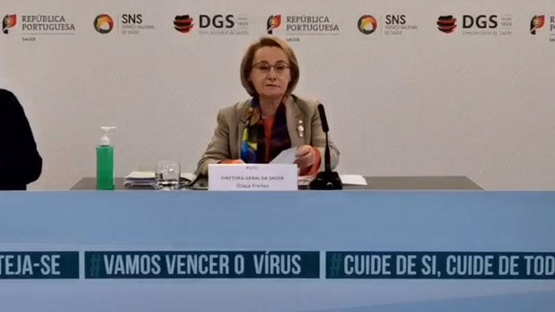 Declaração DGS Dra. Graça Freitas
