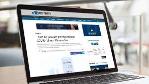 Teste da Biojam permite detetar COVID-19 em 15 minutos