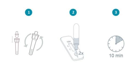 procedimento-teste-saliva-apos-recolha-de-amostra